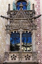 Casa Batllo Facade.Barcelona, Spain