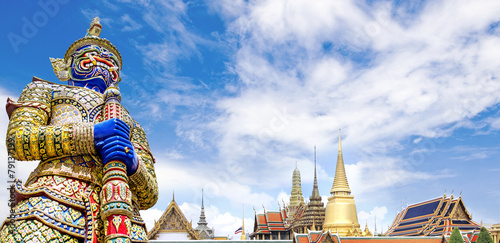 Poster Bangkok Wat Phra Kaeo,Bangkok,Thailand
