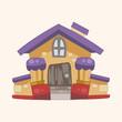 Building design house theme elements,eps