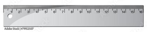 Obraz na plátně ruler
