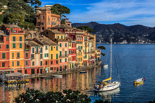 Canvas Prints Liguria Portofino