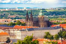 Cathedral Saint Vitus In Prague