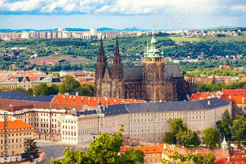 Poster Prague Cathedral Saint Vitus in Prague