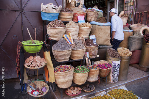 Photo Stands Morocco Marrakech souk