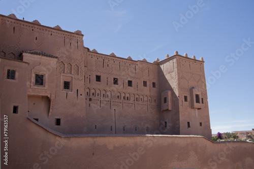 Spoed Foto op Canvas Marokko Marocco Kasbah Taourirt