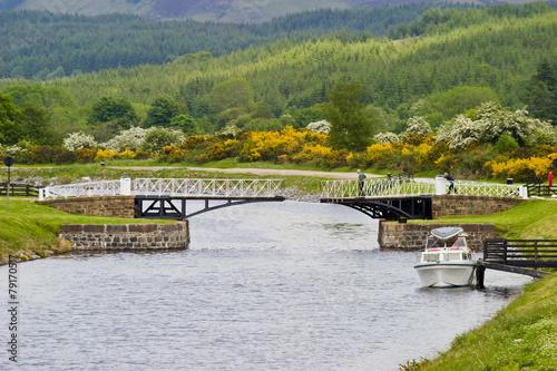 Fotografie, Tablou  Caledonian canal
