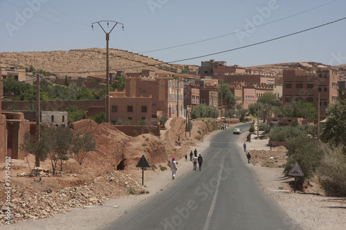 Poster Maroc Strada