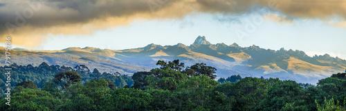 Fotografie, Obraz mount Kenya