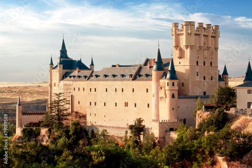 Castle Alcazar of Segovia, Castilla and Leon, Spain
