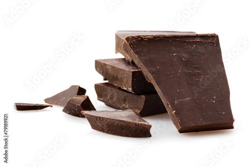 Staande foto Zuivelproducten Chocolate