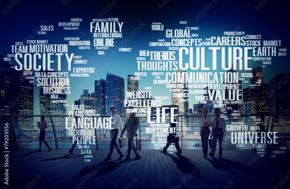 Fototapety, obrazy: Culture Community Ideology Society Principle Concept