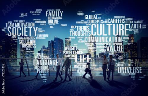 Obraz na płótnie Culture Community Ideology Society Principle Concept