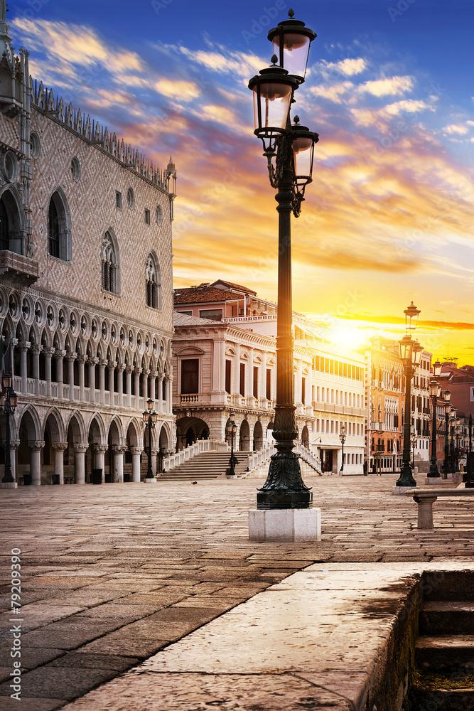 Fototapety, obrazy: Plac Świętego Marka Wenecja