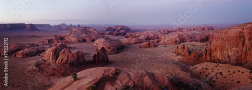 Staande foto Canyon hunts mesa monument valley