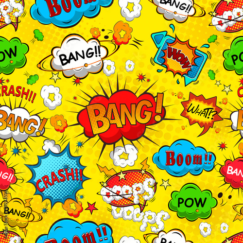 comic-speech-bubbles-seamless-pattern-vector