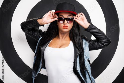 Fotografie, Obraz  Confident in her style.