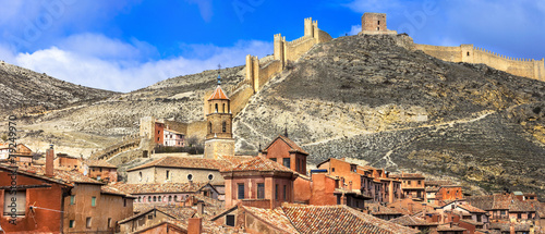 Albarracin - medieval terracote town in Spain