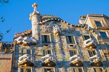 The Facade Of The Casa Batllo ...