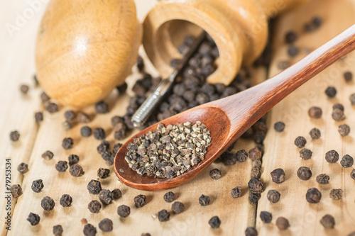 Fotomural  black pepper