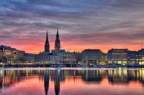 City on the water alster