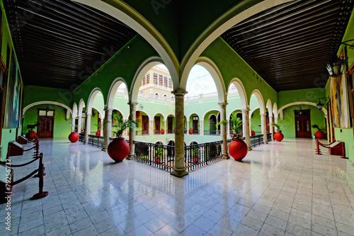 Obraz na plátně Palais du gouverneur à Mérida au Mexique