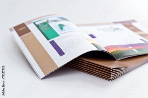 Fototapeta Broschürendruck obraz