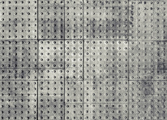 fototapeta płyty betonowe z dziurami