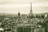 View of Paris and of the Eiffel Tower from Above - 79260738