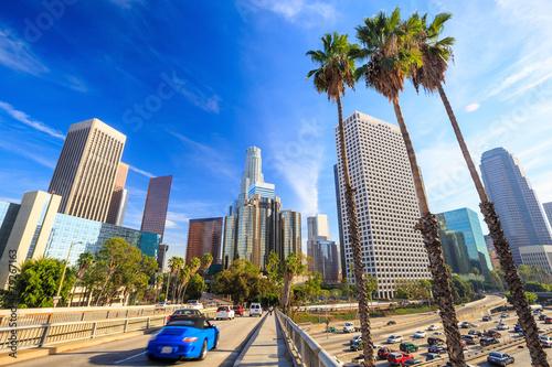Photo  Los Angeles, California, USA downtown cityscape