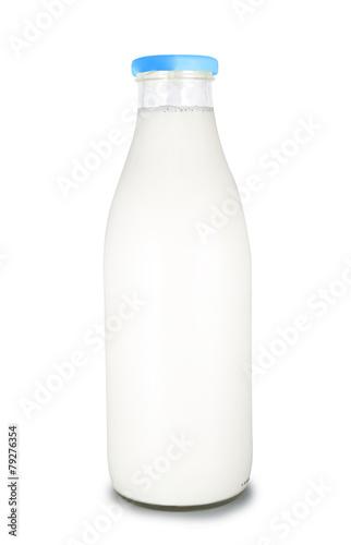 Fotografie, Obraz  bouteille de lait