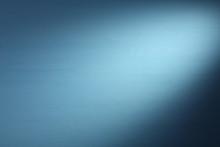 Light Beam On A Blue Background