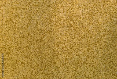 Photo  Gold chinese pattern background