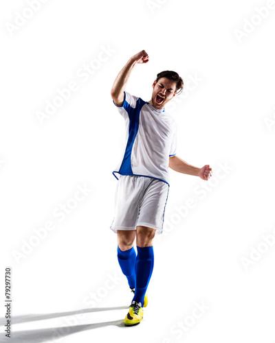 soccer player in action Fototapeta