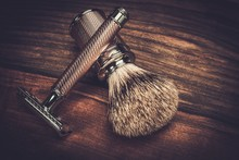 Safety Razor And Shaving Brush...