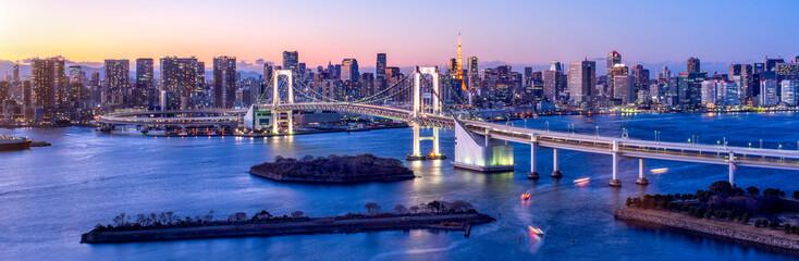 Tokyo Odaiba Rainbow bridge