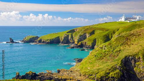 Canvas Prints Blue Cornwall England