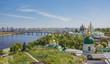 Panoramic view of Kyiv-Pechersk Lavra
