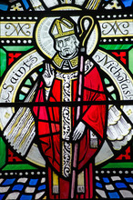 Saint Nicholas Stained Glass W...