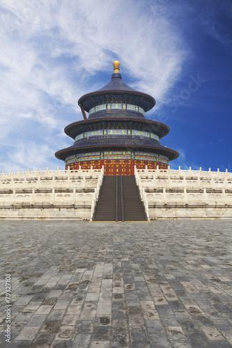 Foto op Aluminium Beijing Beijing Tiantan ancient architecture