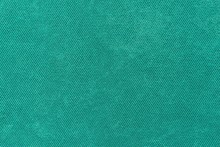 Grained Texture Fabric Of Green Color