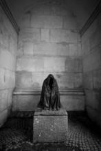 Monochrome Photo Of Monument O...