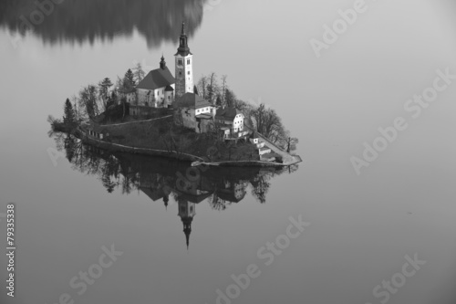 Photo sur Plexiglas Forme Lake Bled.