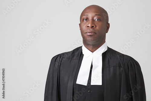 Carta da parati African american judge