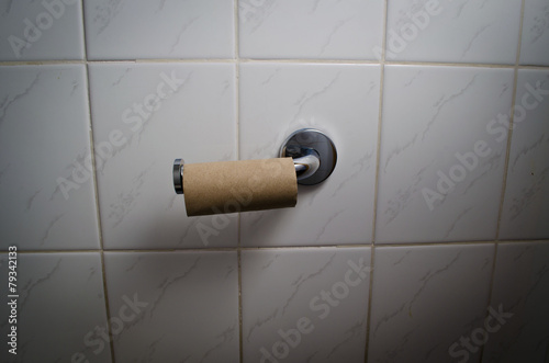 Obraz Empty toilet roll - fototapety do salonu