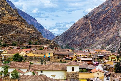 Fotografie, Obraz  Ollantaytambo Village
