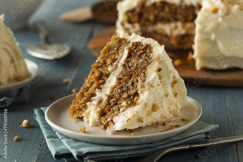 Photo  Healthy Homemade Carrot Cake