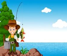 Fisherman Cartoon