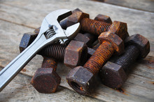 Old Bolts With Adjustable Wren...