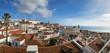 Mirador de santa luzia; lisbonne; portugal