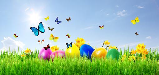 Fototapeta Wielkanoc OSTERN